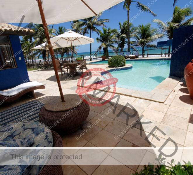 Busca Vida beachfront house for sale