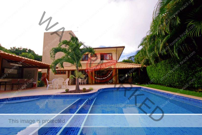 Luxury home for sale Busca Vida near Salvador