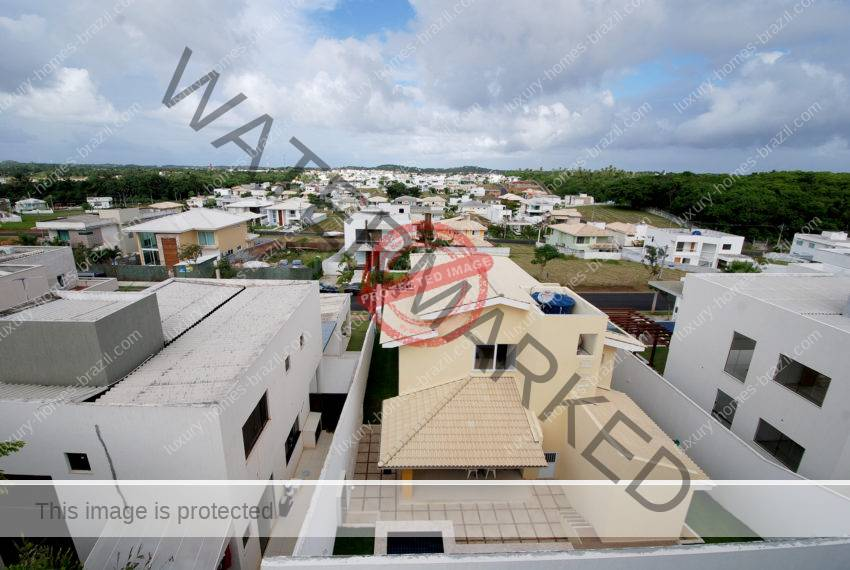 Alphaville Litoral Norte home with fantastic views for sale