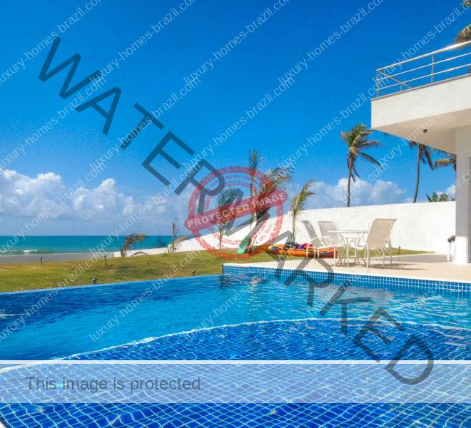 Luxury beachfront home for sale Barra de Jacuípe