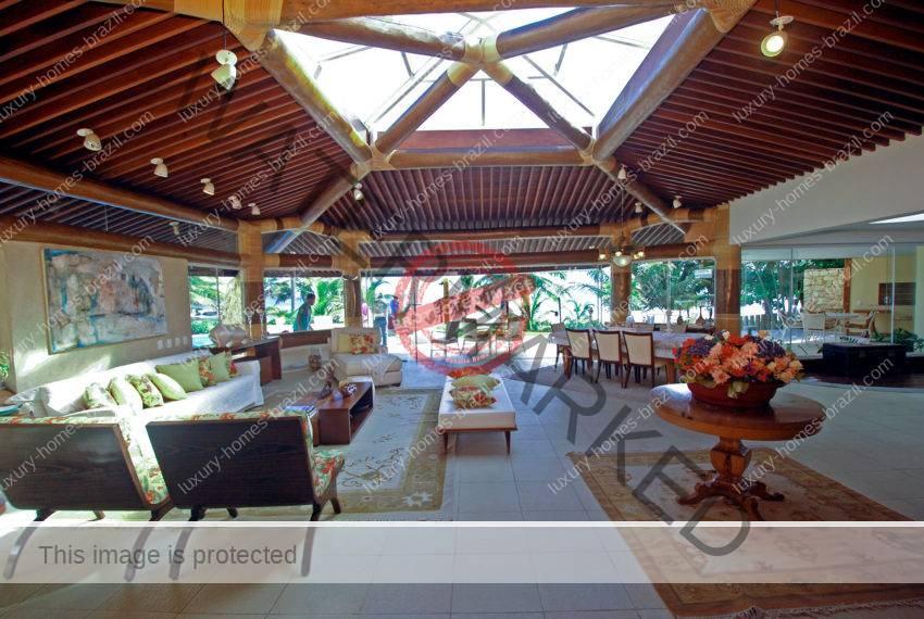 Beachfront home for sale in Busca Vida Resort